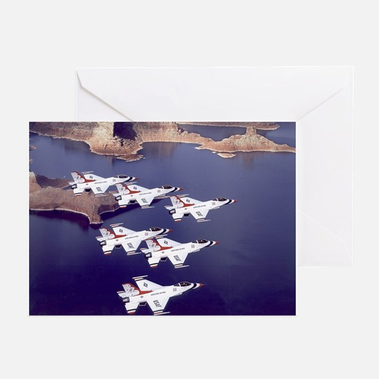 US Air Force Thunderbirds Greeting Cards (Package