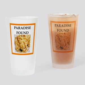 mac and cheese Drinking Glass