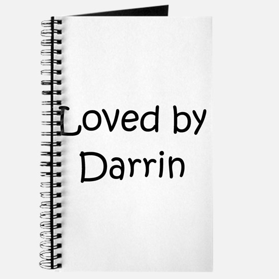 Cute Darrin Journal