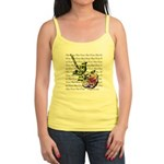 Plaid Rose Jr. Spaghetti Tank