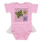 Plaid Butterflies Baby Tutu Bodysuit