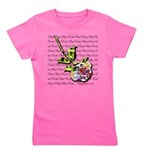 Plaid Rose Girl's Tee