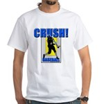 Baseball Crush! White T-Shirt