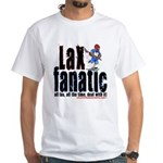 LAX Fanatic White T-Shirt
