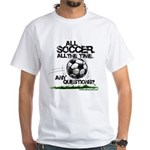 All Soccer White T-Shirt