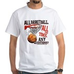 All Basketball White T-Shirt
