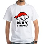 Kid Play Strong White T-Shirt