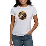 Santa's Lab (blk)#1 Women's T-Shirt