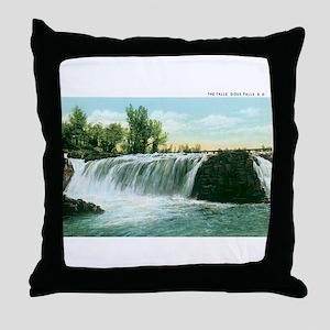 Sioux falls SD Throw Pillow