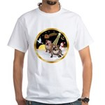 Night Flight/2 Eng Bulldogs White T-Shirt