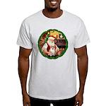 Santa's Pomeranian #1 Light T-Shirt