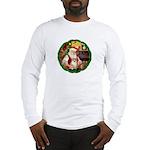 Santa's Pomeranian #1 Long Sleeve T-Shirt