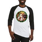 Santa's Pomeranian #1 Baseball Jersey
