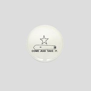Gonzales Flag Mini Button