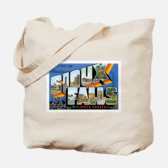 Sioux falls SD Tote Bag
