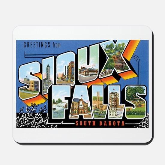 Sioux falls SD Mousepad