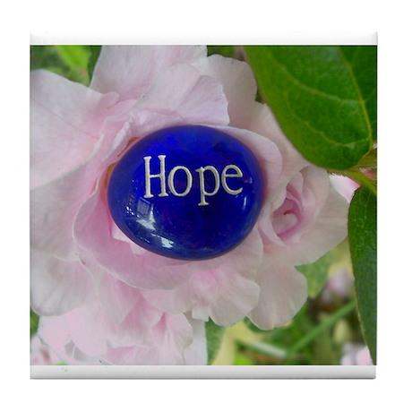 """HOPE"" Tile Coaster"