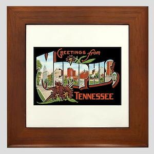 Memphis TN Framed Tile
