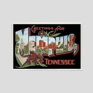 Memphis TN Rectangle Magnet