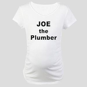 Joe the Plumber Costume Maternity T-Shirt