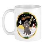 Night Flight/Silver Poodle Mug
