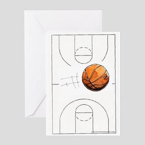 Go Hoops! Greeting Card