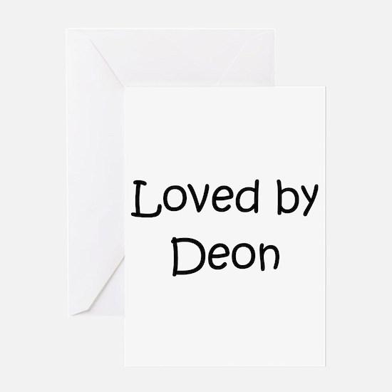 Cute Deon Greeting Card
