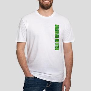 Brazilian Jiu Jitsu - Sideway Fitted T-Shirt