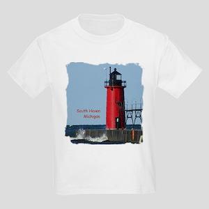 South Haven Lighthouse Kids Light T-Shirt