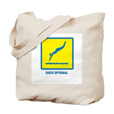 Swim Suits Optional Tote Bag