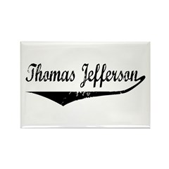 Thomas Jefferson Rectangle Magnet (10 pack)