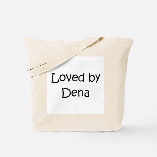 Cute Dena Tote Bag