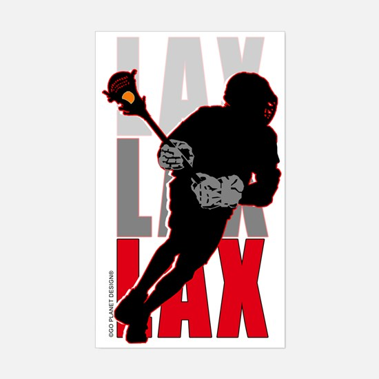 LAX Rectangle Decal