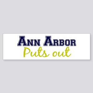 Ann Arbor Puts Out Bumper Sticker