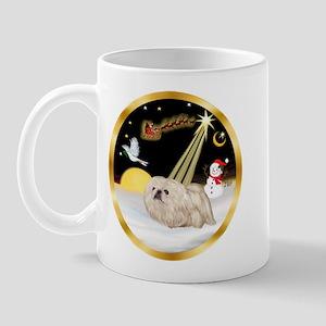 Night Flight/Pekingese Mug