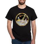 Night Flight/Pekingese Dark T-Shirt