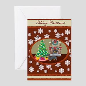 Classic Dachshund Greeting Card