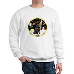 Night Flight/Newfie #2 Sweatshirt