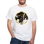 Night Flight/Newfie #2 White T-Shirt