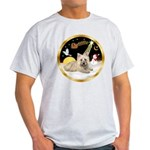 Night Flight/Cairn #4 Light T-Shirt