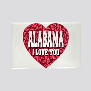 Alabama I Love You Rectangle Magnet