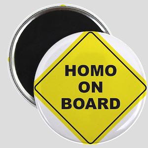 Homo on Board Magnet