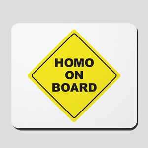 Homo on Board Mousepad