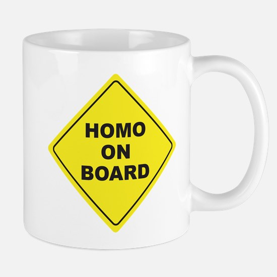 Homo on Board Mug
