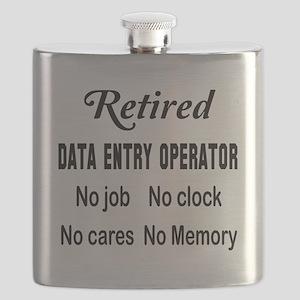 Retired Data entry operator Flask