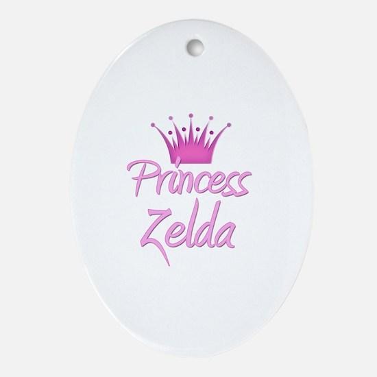 Princess Zelda Oval Ornament