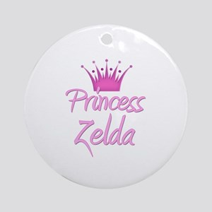 Princess Zelda Ornament (Round)