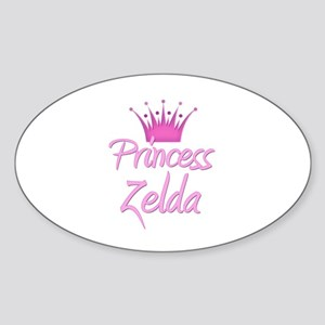 Princess Zelda Oval Sticker