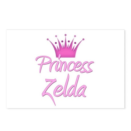 Princess Zelda Postcards (Package of 8)