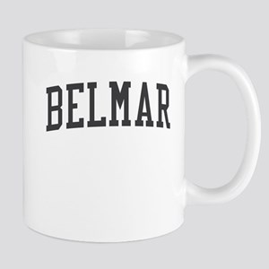 Belmar New Jersey NJ Black Mug
